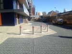 Charcoal Priora Keyblock and Denmont Grey Regular Paving at Alperton Gateway